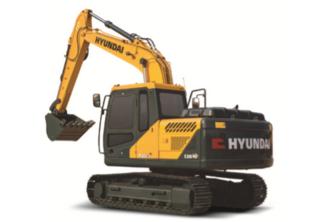 现代130LVS挖掘机