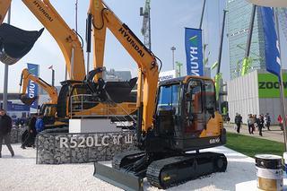 现代R66VS挖掘机