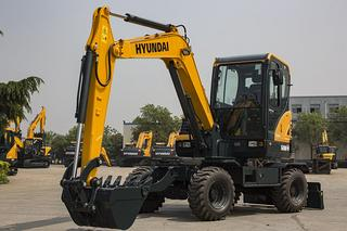 现代R60WVS挖掘机