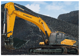 现代 R485LVS 挖掘机