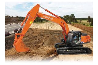 日立 ZX260LCH-5A 挖掘机
