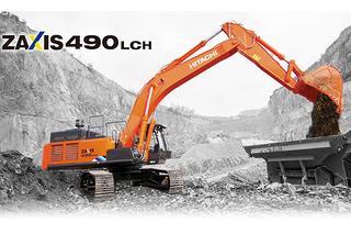 日立 ZX490LCH-5A 挖掘机