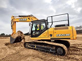 凱斯 CX260C 挖掘機圖片
