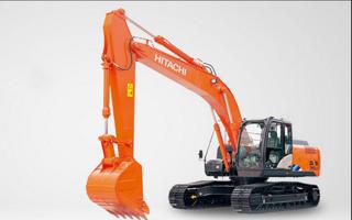 日立 ZX210LC-5A 挖掘机