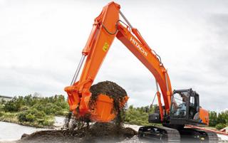 日立ZX200LC-5A挖掘机