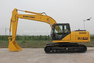 住友SH210-5矿山版挖掘机