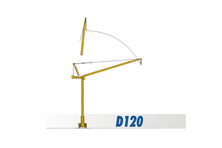 四川建设 D120 起重机