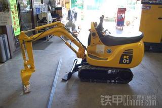 小松PC01挖掘机