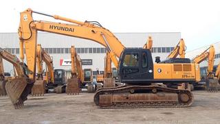 现代R375LC-7H挖掘机