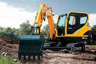 现代R60-9S挖掘机