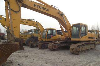现代R335-7挖掘机