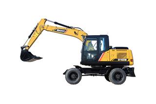 三一重工SY155W挖掘机