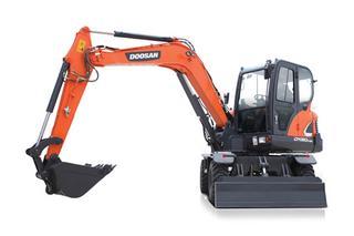斗山 DX60W-9C 挖掘机