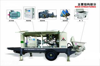 赛力斯特 HBTZ60-07-75 拖泵图片