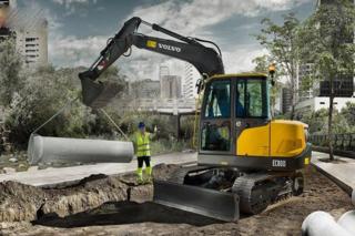 沃尔沃 EC80D PRO 挖掘机