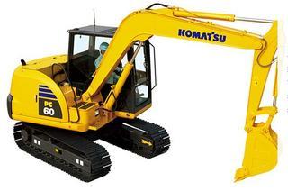 komatsuPC60-8挖掘机