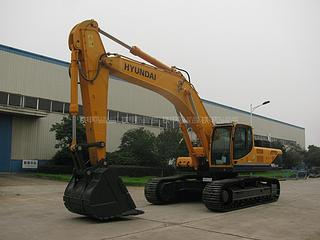 现代R485LC-9T挖掘机