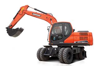 斗山 DX150W- 9C 挖掘机