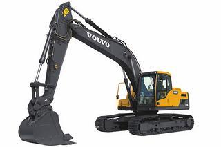 沃尔沃EC220DL挖掘机