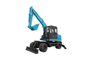 南特机械 DT80W 挖掘机