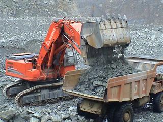 邦立重机CE460-7反铲挖掘机