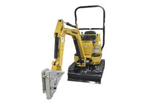 洋马Vio10-2A-橡胶履带挖掘机