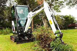 山猫 E20 挖掘机