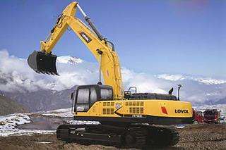 雷沃重工 FR480E 挖掘机