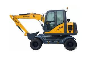 新源 B70W 挖掘机