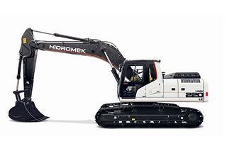 海德宝莱 HMK220LC  挖掘机