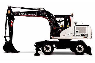 海德宝莱 HMK140W 挖掘机