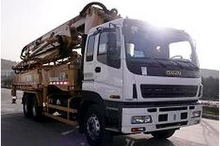 欧标机械 XZQ5310THB42Z 泵车