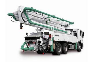山东品牌 47米 泵车图片
