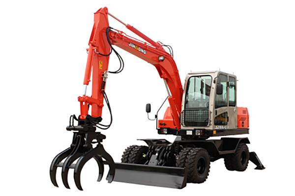 晋工JGM9085LNZ-8G挖掘机整机外观