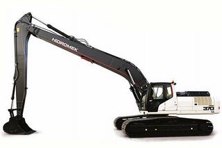 海德宝莱 HMK 370 LC LR  挖掘机
