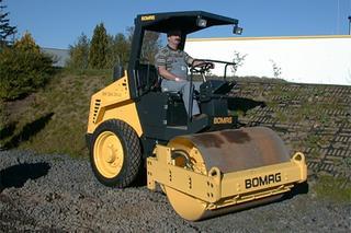 宝马格 BW124DH 压路机