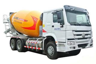 徐工 XSL3309(重汽底盘) 搅拌运输车