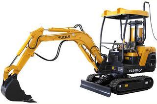 玉柴 YC20D 挖掘机