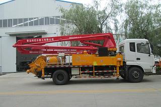 科尼乐 21米 泵车