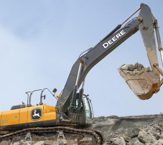 约翰迪尔 E400LC 挖掘机