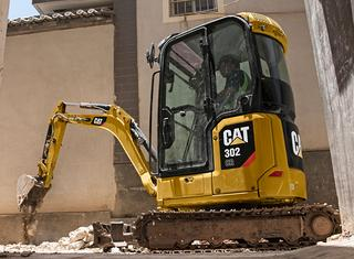 卡特彼勒 新一代Cat®302CR小型液压 挖掘机