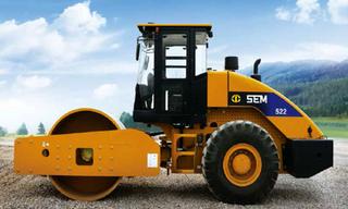 山工 SEM522 压路机