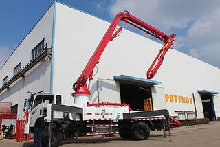 天晟机械 28米 泵车