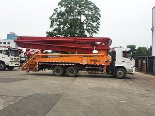 天晟机械 39米 泵车