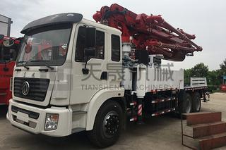 天晟机械 34米 泵车