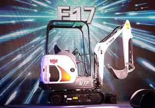 山猫 E17 挖掘机