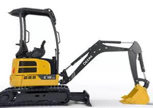 约翰迪尔 E18zs 挖掘机