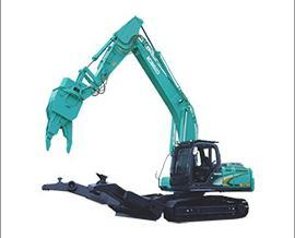 神钢SK210D-10多功能解体机挖掘机