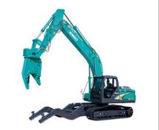 神钢SK210D-10汽车解体机挖掘机