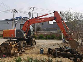 日立 ZX140W-3 挖掘机